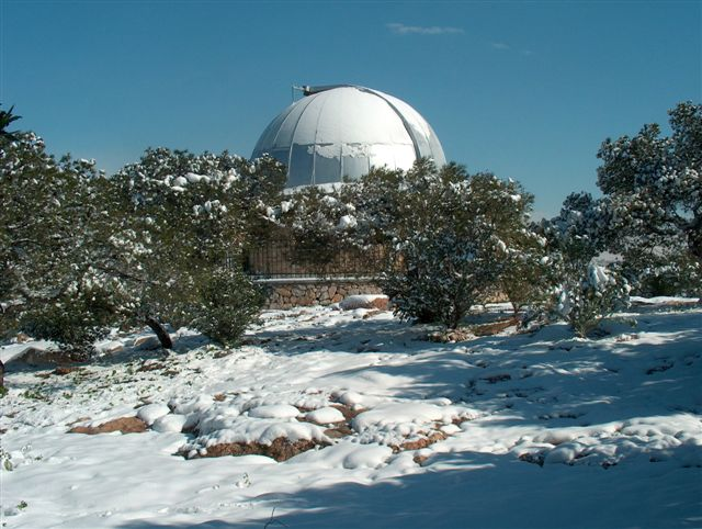 The Dorides dome in Pnyka hill (18 Feb 2008)